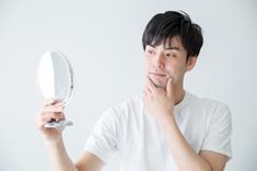 毎日鏡を見ることが楽しみになった